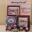 1993 AMERICA'S HEARTLAND STONEY CREEK COLLECTION CROSS STITCH BOOK #113
