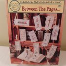 1992 CROSS MY HEART BETWEEN THE PAGES COUNTED CROSS STITCH BOOK