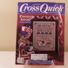 1988 CROSS QUICK CROSS STITCH LOVERS PREMIER ISSUE CONTRY SAMPLERS