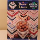GREAT BIG GRAPHS COUNTED CROSS STITCH 15 BASKET LINERS