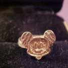 VINTAGE DISNEY MICKEY MOUSE 10K RING