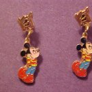 VINTAGE 80'S DISNEY MICKEY MOUSE PIERCED EARRING