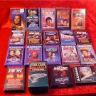 HUGE LOT OF STAR TREK AUDIOBOOKS TAPES & CDs