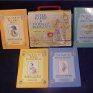 1995 BEATRIX POTTER 4 BOOK TREASURY SET & CASE