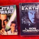 LOT OF 2 AUDIOBOOKS BATTLEFIELD & STAR WARS