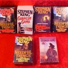 HUGE LOT OF STEPHEN KING AUDIOBOOKS