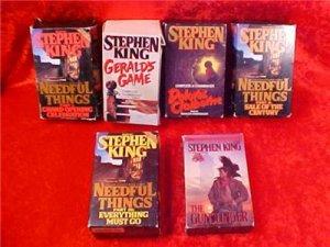 HUGE LOT OF STEPHEN KING AUDIOBOOKS