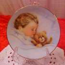 1992 KEEPSAKE BABY PLATE 22K GOLD TRIM