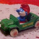 1982 PAPA SMURF DIECAST CAR