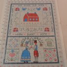 CROSS STITCH PATTERN HOME SWEET HOME SAMPLER