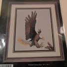 CROSS STITCH PATTERN THE BALD EAGLE