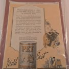 MARCH 4 1922 THE SATURDAY EVENING POST AD PET MILK