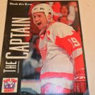 DETROIT RED WINGS FREE PRESS THE CAPTAIN COLLECTOR 8 BY 10 PHOTO