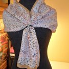 VINTAGE RALFEAUX silk scarf SCARF BANDANA HANDKERCHIEF 100% silk