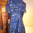 VINTAGE silk long scarf SCARF BANDANA SHAWL 100% silk