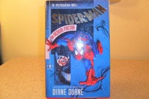 1994 SPIDER-MAN THE VENOM FACTOR THE NEW SPECTACULAR NOVEL BOOK