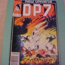 1987 Marvel D.P.7 New Universe comic book #7