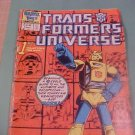 TRANS FORMERS UNIVERSE 1ST ISSUE comic book