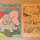 Lot of 2 Disney comic books Dumbo and Lady and Tramp