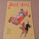 July 1958 Jack And Jill magazine tiny tales stories,puzzles,cut-outs