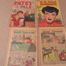 Lot of 4 vinatge comic books Patsy Walker's Pals,Hi-School Romance, magic summer, more than a pal