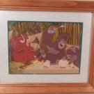 2000 Disney Store Tarzan matted Lithograph Gold Seal