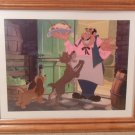 Disney Lady & The Tramp with Tony Lithograph