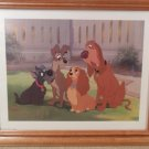 DISNEY'S LADY AND THE TRAMP LITHOGRAPHS