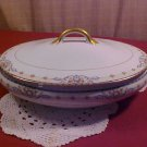 Noritake Wellesley Pattern Oval Serving Bowl with lid
