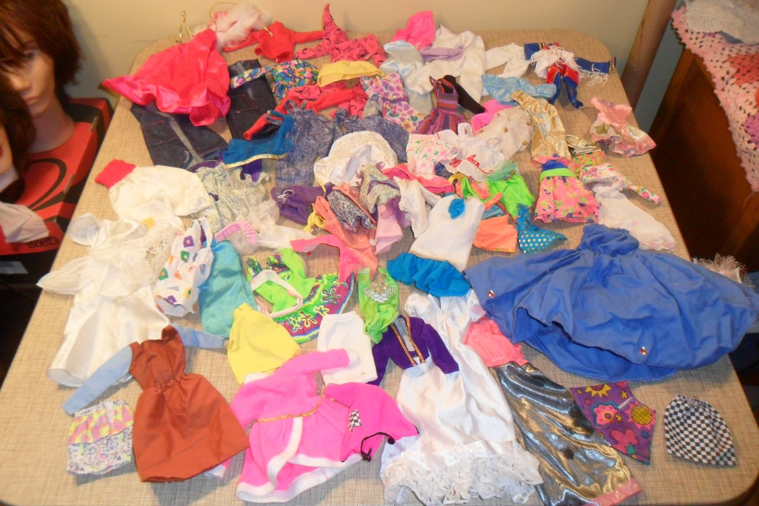 Huge lot of vintage Barbie Doll Clothing (SOLD)