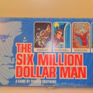 Vintage 1975 The Six Million Dollar Man Parker Brothers Board Game complete