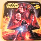 2005 Star Wars 500 piece double-sided puzzle in tin