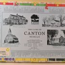 Rare 1989 The Game Of Canton Michigan Board Game