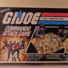 Vintage 1985 MB G.I. Joe Commando Attack Board Game