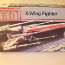1983 Star Wars Return of the Jedi X-Wing Fighter Original Vintage Model Kit