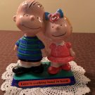 1970 Charlie Brown & Sister Sally United Feature Syndicate Figurine