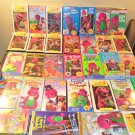 Huge Lot of Barney VHS Video Tapes