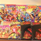 Lot of 9 X-Men VHS Video Tapes Marvel Comics