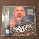 PlayStation 1 Mayhem out of hand out of the ring game