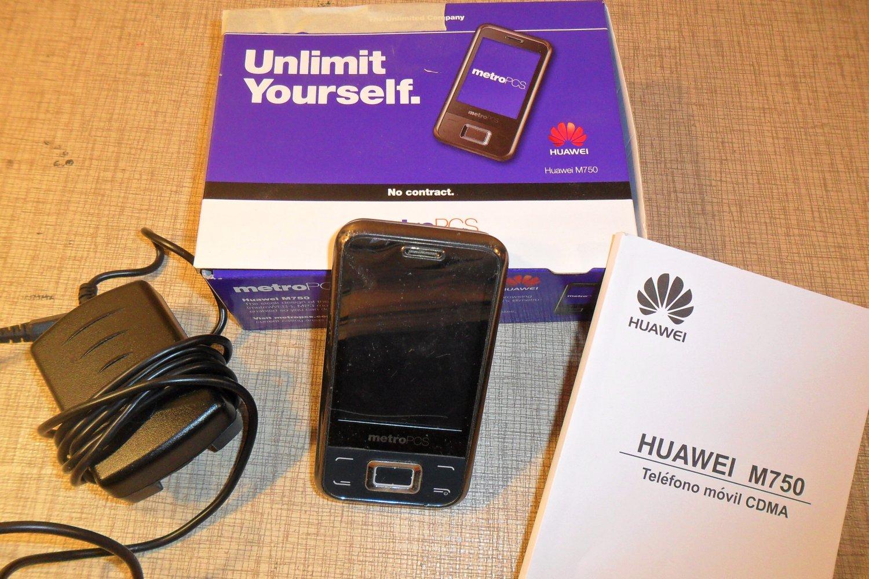 Metro Pcs Huawei M750 Touchscreen camera cell phone