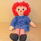 "VINTAGE RAGGEDY ANN DOLL CLOTH DOLL JOHN GRUELLE'S 18"" tall"