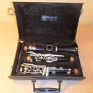 Clarinet Bundy Resonite Selmer With Hard shell Plush lined case and New Mouthpiece