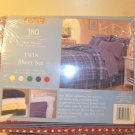 NIP Jubilee Twin Sheet Set Stars and Stripes 180 thread count
