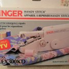 Singer Handy Stitch Sewing Machine, Model CEX300KD with Instructions