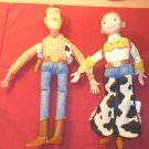 Toy Story Woody and Jessie Talking Dolls by THINKWAY TOYS no hats