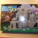 MB Challenging Puzz 3-D Camelot Fully Dimensional Puzzle