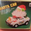 Vintage Santa Car Bump'G Go Action