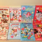 Huge Lot Of Disney Valentine Cards All MIP