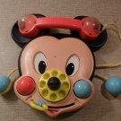 Vintage Mattel Disney Mickey Mouse Crib Toy