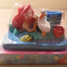 MIP Vintage 1990's Disney Little Mermaid Floating Soap Dish